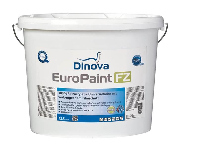 europaint fz fassadenfarbe gegen algen und pilzbewuchs. Black Bedroom Furniture Sets. Home Design Ideas